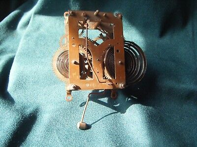 small vintage clock movement