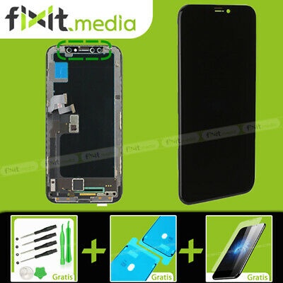 LCD Display für iPhone X 10 RETINA HD Bildschirm 3D Touch Screen Schwarz Black