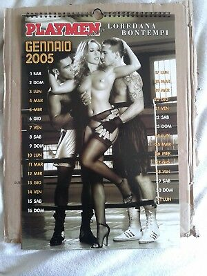 Loredana Bontempi Calendario Anno 2005 Playmen+Dvd
