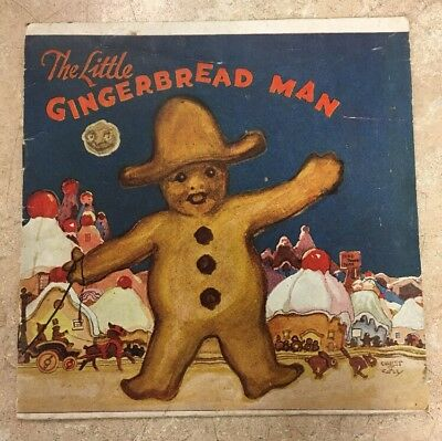 Vintage 1923 The Little Gingerbread Man Royal Baking Powder Recipe Book