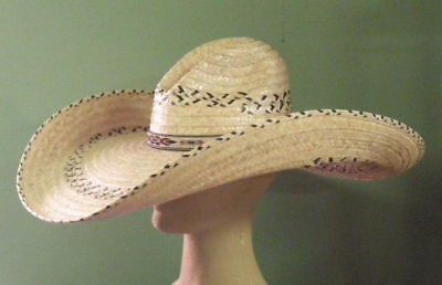 CHARLIE 1 HORSE Mariposa Mexican Palm Straw Western Style Sun Hat -  33.95   d317557c20e