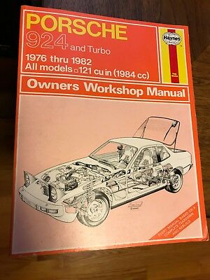 *** 1976 - 1982 PORSCHE  924 & Turbo *** Owners Workshop Manual by HAYNES