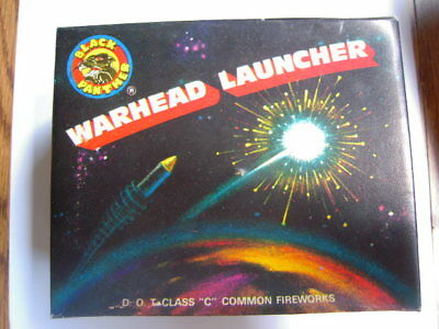 Warhead Launcher - Black panther brand - 6 pieces