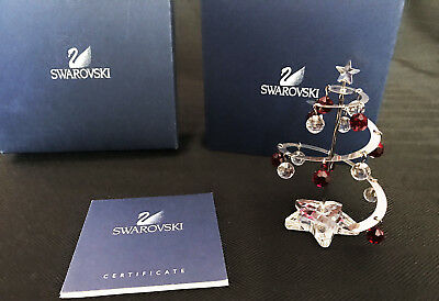 "SWAROVSKI Spiral Christmas Tree with Ornaments - from ""Crystal Moments"""