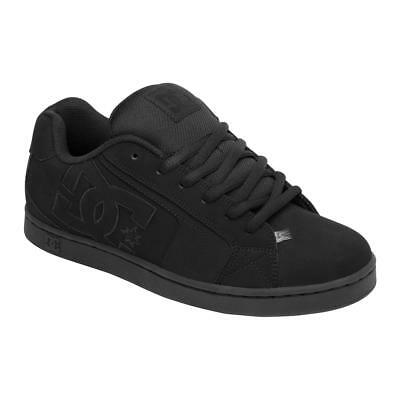 DC Net Suregrip Mens Black/Black Sneakers