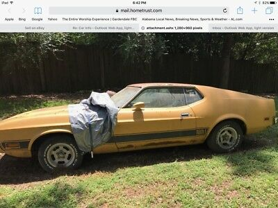 1973 Ford Mustang  Project car-1973 Mach I Mustang-got married, had a baby-daddy's toy has to go