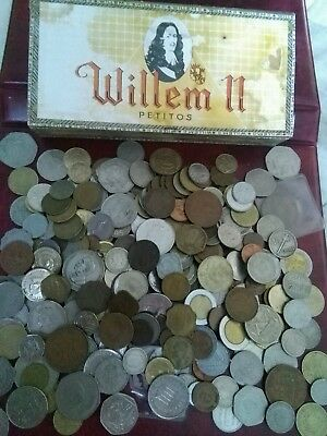Job Lot Of foreign Coins including British/ Commonwealth Coins