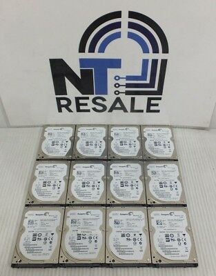 "LOT of 12 Seagate Momentus Thin 320GB 7200RPM ST320LT007 2.5"" SATA Laptop HDD"