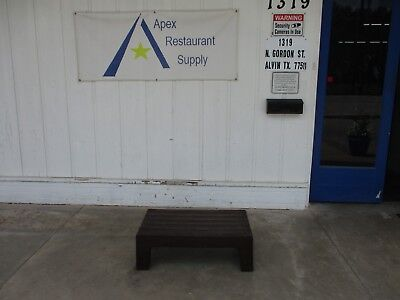 """Plastic Dunnage Rack 36"""" x 21"""" Commercial Restaurant Storage #3360"""