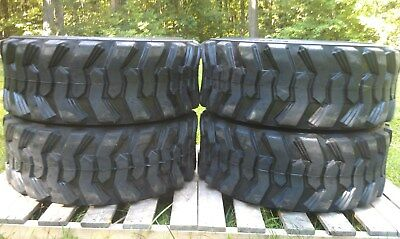 4 NEW Camso sks332 12-16.5 Skid Steer Tires  - For CAT, New Holland & others