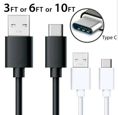 Pack Of 3 Type-C Cable 3Ft-6Ft-10Ft Usb Fast Charging Cable For Samsung Galaxy N