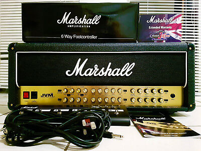 MARSHALL JVM-410H Head Gitarrenverstärker / Amp 100 Watt