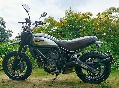 Ducati Scrambler Urban Enduro, July 2015