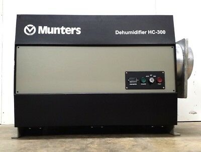 Munters Cargocaire Hc-300 Desiccant Dehumidifier - Low Hours 924Hr  3Ph 440/480V