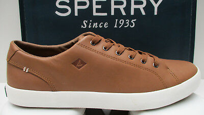 Sperry Top Sider Sts16214 Wahoo Leather Ltt Men's Fashion Sneaker Tan New In Box