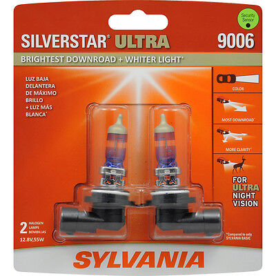 Brand New Sylvania 9006 Silverstar Ultra Replacement Headlight Bulbs