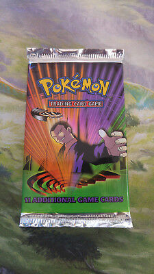 Pokemon Booster Gym Challenge, OVP sealed, english, Giovanni Artwork