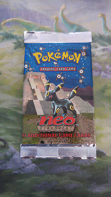 Pokemon Booster Neo Discovery, OVP sealed, english, Umbreon Artwork