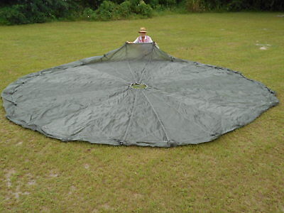 T-10 Reserve Parachute Canopy/Gray-Green Color