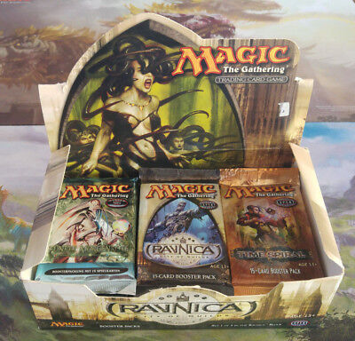 Magic the Gathering, Ravnica, Time Spiral, Fifth Dawn, 23 sealed Boosters