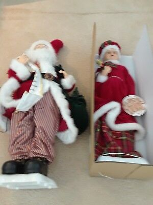 Mr. And Mrs Claus Set