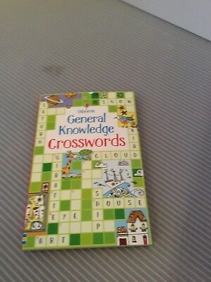 USBORNE General Knowledge Crosswords by Phillip Clarke New Paperback Book