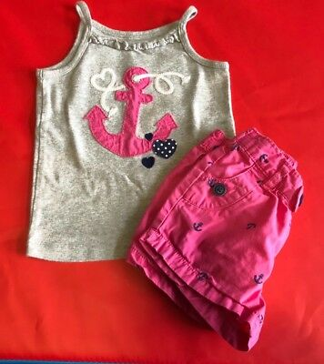Girls carters summer set size 3t
