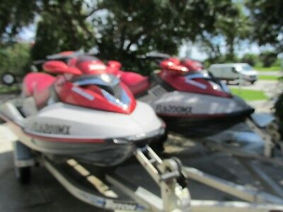 2005 SEADOO RXT x 2 Double the fun both w/trailer ready to go