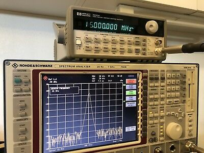 HP 33120A 15 MHz Function / Arbitrary Waveform Generator (*needs-encoder)