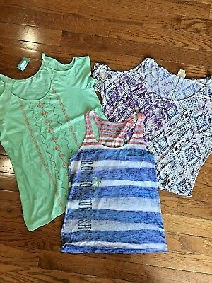 Maurices Tops Womens L Large Blouses Shirts Tanks Lot Clothing Summer