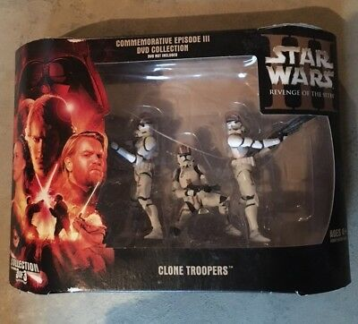 Star Wars Commemorative Clone Troopers Episode III Collection