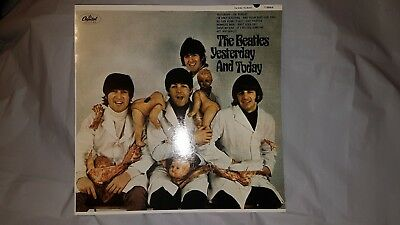 The Beatles Yesterday And Today Butchers Cover Mono Reissue Purple Vinyl...