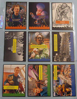 Rare Complete (9) NM/M Set Mystery Science Theater 3000: The Movie Promo Cards