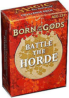 Born of the Gods Challenge Deck Battle the Horde (ENGLISH) SEALED NEW ABUGames