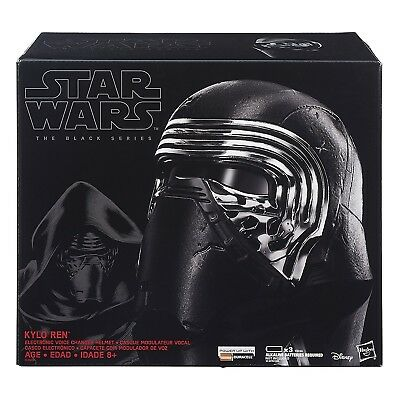Hasbro Star Wars Black Series Kylo Ren Voice Changer Helmet