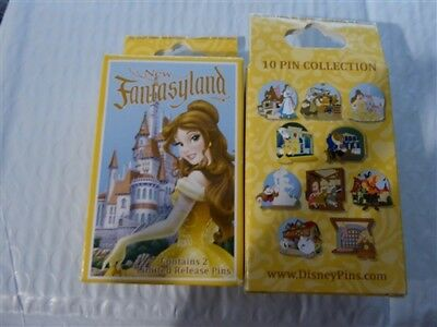 Disney Trading Pins  94075 WDW - New Fantasyland - Beauty and the Beast Mystery