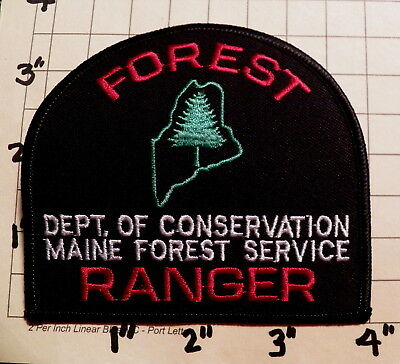 MAINE Department of Conservation Forest Service FOREST RANGER Patch    ***NEW***