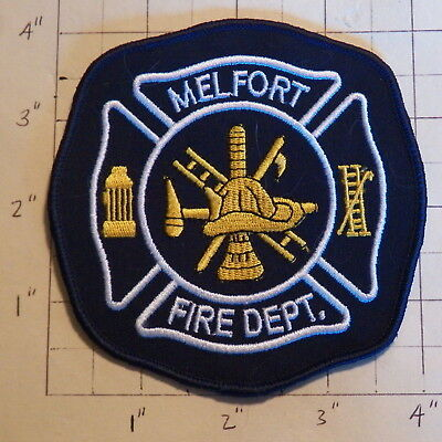 Melfort (SK,Canada) Fire Department Patch            ***NEW***