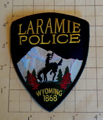 Laramie (WY) Police Department Patch  -  1868      ***NEW***