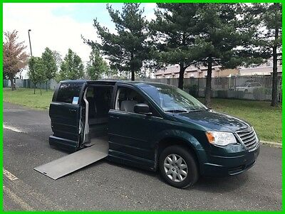 Chrysler Town & Country LX VAN WHEELCHAIR HANDICAP POWER VMI RAMP KNEELING SYSTEMN2009 LX Used 3.3L V6
