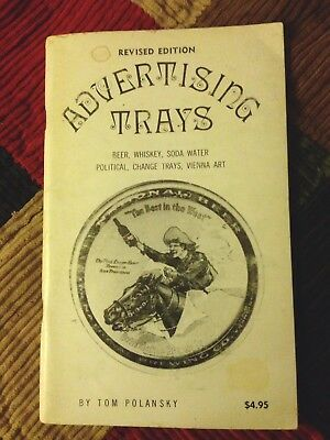 Advertising Trays Book By Tom Polansky 1974 Collecting Price Guide Revised Ed