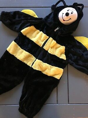 Bumblebee Halloween Costume Baby 12-18 Months Chrisha Playful Plush Outfit