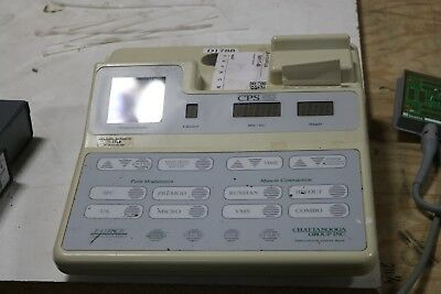 Chattanooga Forte CPS 200 Combo Ultrasound Therapy Muscle Stimulator good cond.