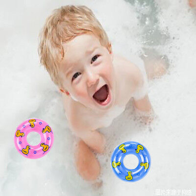 Baby Wash Bath Swimming Mini Swimming Rings Cute PVC Floating Bath Toys For Baby