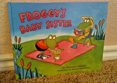 FROGGY'S Baby Sister Hardcover Book Jonathan London Kids Toddlers Babies NEW