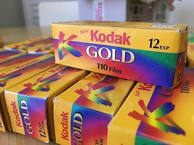 Kodak 110 Film - Bulk Lot