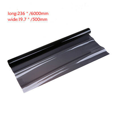 Professional Dark Black Car Window TINT 25% VLT Film 600x50cm Uncut Sun Shade