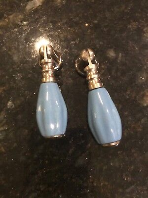 Pbk Turquoise Knobs Set Of 2 Nice Closet Doors Or As Accent Knob On Nightstands