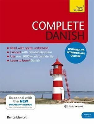 NEW Complete Danish By Bente Elsworth Book with Other Items Free Shipping