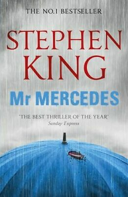 NEW Mr. Mercedes By Stephen King Paperback Free Shipping
